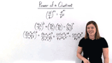 What's the Power of a Quotient Rule?