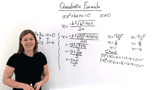 What is the Quadratic Formula?