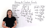 How was the Quadratic Formula Derived?