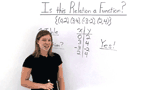 How Do You Figure Out If a Relation is a Function?