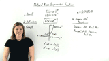 What is the Natural Base Exponential Function?