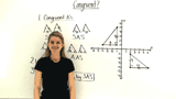 How Do You Determine if Triangles on the Coordinate Plane are Congruent?