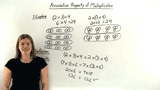 What is the Associative Property of Multiplication?