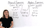 What Are Numerical and Algebraic Expressions?